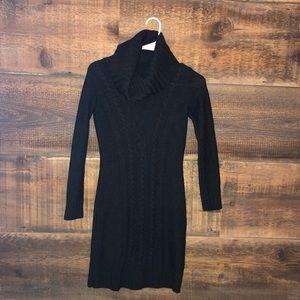 Cynthia Rowley cowl neck sweater dress